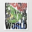 R.I.P Mandela  Canvas Print