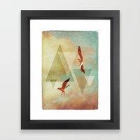 | G U L L S | Framed Art Print