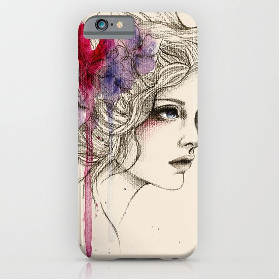 Water Flowers iPhone & iPod Case