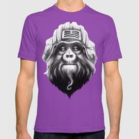 Commander Mens Fitted Tee Ultraviolet SMALL