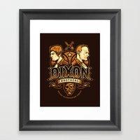 Dixon Brothers Walker Ex… Framed Art Print