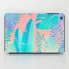 Tropics ( monstera and banana leaf pattern ) iPad Case