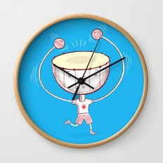 Rat a Tat Tat Wall Clock