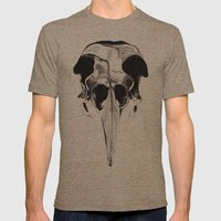 Birdskull  Mens Fitted Tee Tri-Coffee SMALL