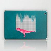 DinoRose - pinky tyrex Laptop & iPad Skin