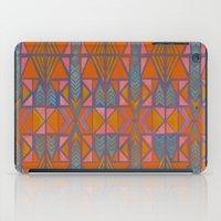Nabu Tribal Orange iPad Case