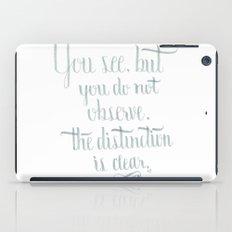 Observation iPad Case