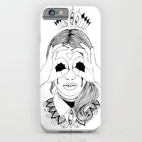 iPhone & iPod Case featuring Void in your eyes by Cannibal Malabar