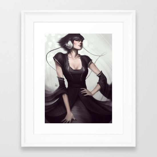 Pepper Vogue Framed Art Print
