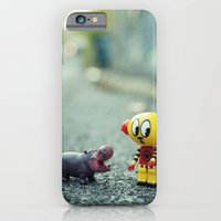 iPhone & iPod Case featuring HI!! I told you i don't want a pet!! by Patrick Andrew Adams