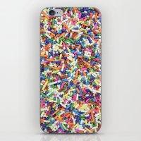 Rainbow Candy Dessert Sprinkles iPhone & iPod Skin
