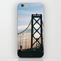 Bay Bridge iPhone & iPod Skin