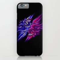 iPhone & iPod Case featuring Twin Demons Intertwined by Dangerous Monkey