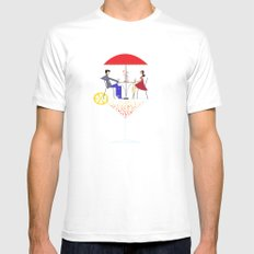 Cocktail Mens Fitted Tee White SMALL