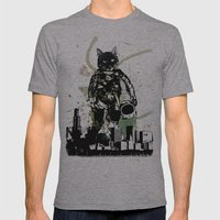 Brave New World Mens Fitted Tee Athletic Grey SMALL