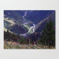 Valls D'Andorra 2 Canvas Print