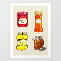 Time for Toast Art Print