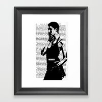 A Vague Hope Framed Art Print