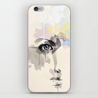 Beyond Her Tears  iPhone & iPod Skin
