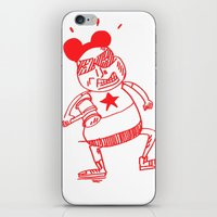 Villain In Red iPhone & iPod Skin