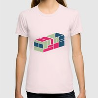 Chicken Bus - 2 Womens Fitted Tee Light Pink SMALL