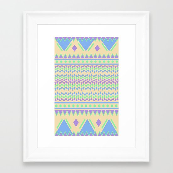 TriangleTraffic Framed Art Print