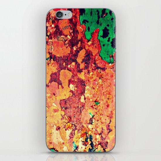 It's a Rusty Rusty World iPhone & iPod Skin