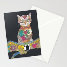air kitten pewter Stationery Cards