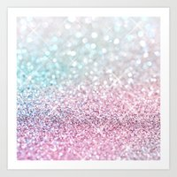 Pastel Winter Art Print