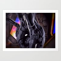 Hold On Tight For Warp S… Art Print