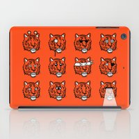 Eyes Of The Tiger iPad Case