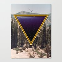 Space Frame Canvas Print