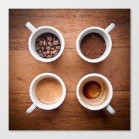Coffee VI. Canvas Print
