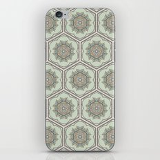 Hexaflower iPhone & iPod Skin