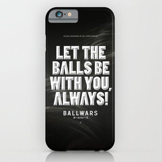 BallWars: Poster iPhone & iPod Case