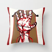 Bound By Blood Throw Pillow