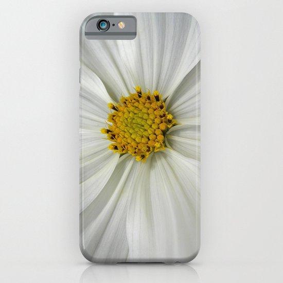white cosmos III iPhone & iPod Case