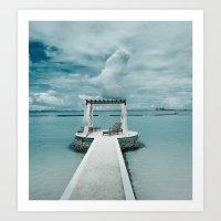 Maldives 3 Art Print