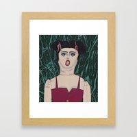 Inflatable Susanna  Framed Art Print