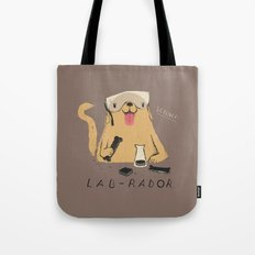 lab-rador Tote Bag