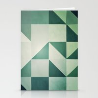 :: geometric maze x :: Stationery Cards