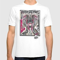PRIMAL Mens Fitted Tee White SMALL