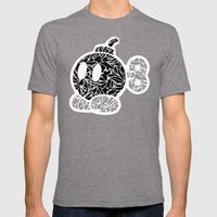 Bob Omb #CrackedOutBadGu… Mens Fitted Tee Tri-Grey SMALL