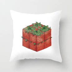 Modern Fruit Throw Pillow