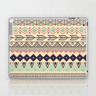 Laptop & iPad Skin featuring Aztec Pattern 02 by BlueLela