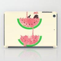Watermelon Falls iPad Case