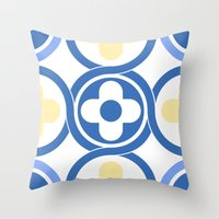 Floor tile 7 Throw Pillow