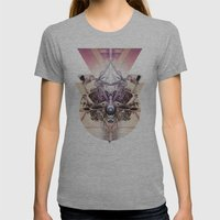 Vanguard Mkvi Womens Fitted Tee Athletic Grey SMALL