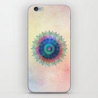 Leaf Mandala iPhone & iPod Skin