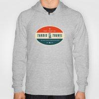 Tardis Travel - Fantasy Travel Logo Hoody
